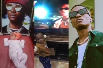The Die Hard Fan Who Dedicated His Newly Born Son To Wizkid Gives Update On How His Son Is Doing